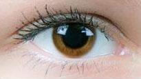 Ruskea piilolinssi