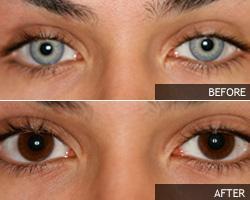 Ruskeat piilolinssit - miten saan ruskeat silmät  313fdadf09